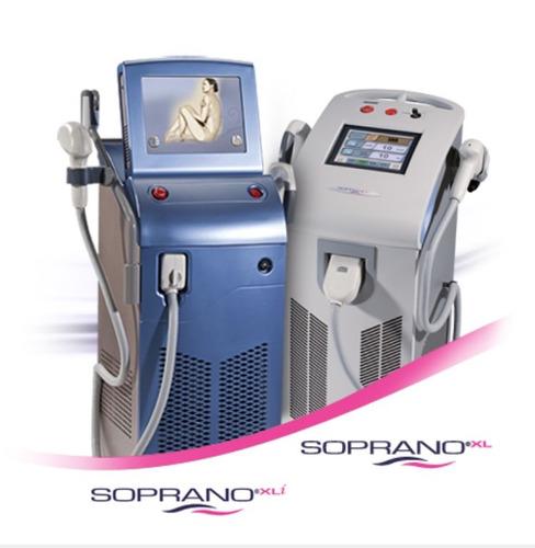 alquiler láser soprano ice y xli 3g, cab speed, nir y alex