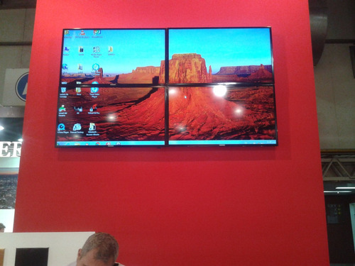 alquiler led tv 42 ,46, 50, 55, 65 video wall / touch screem