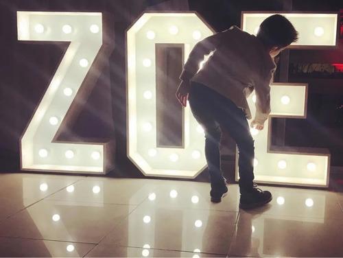 alquiler letras corpóreas luminosas 1 metro-gazebo-telón led