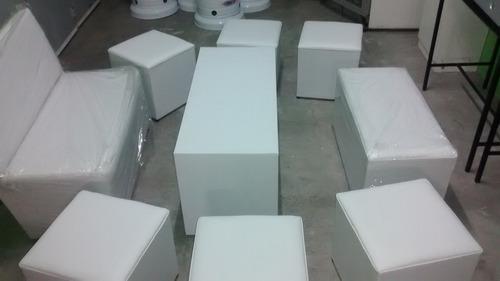 alquiler living mesas sillas plasticas sillon alto bergere