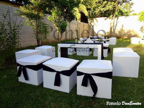 alquiler living mini living puff carpa gazebos p/todo evento