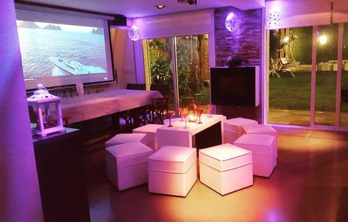 alquiler living puff  ambientacion 15 boda mueble estilo