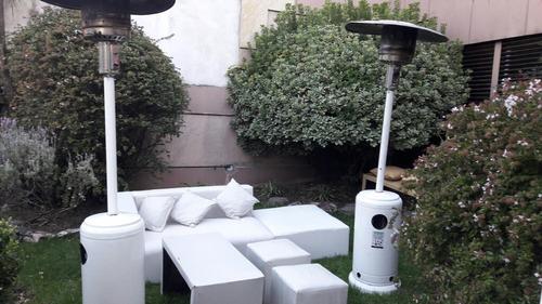 alquiler living puff vajilla sillas mesas calefactor es