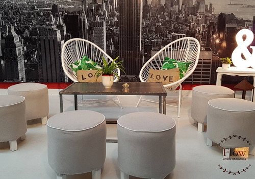 alquiler livings- carteles luminosos - sillas tiffany znorte