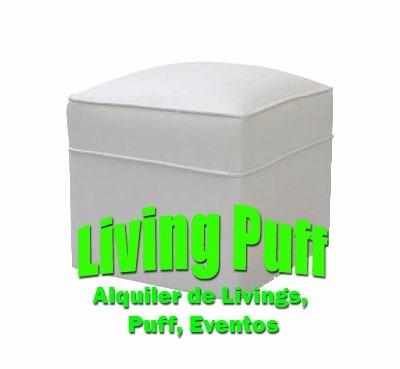 alquiler livings puffs butacones mini puff