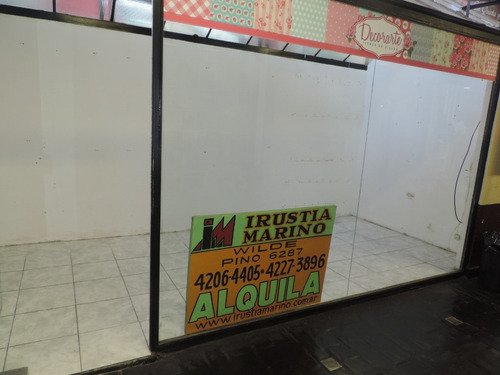 alquiler local c comercia wilde las flores 1.600 local  148