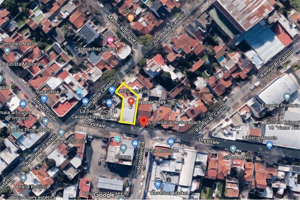 alquiler local comercial 500 mts carapachay