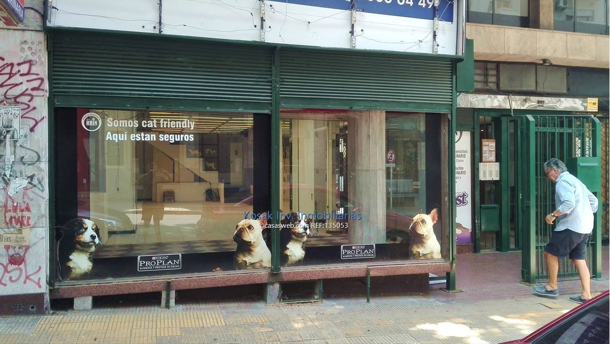 alquiler  local comercial amplio a iluminado