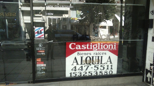 alquiler local comercial paseo del siglo