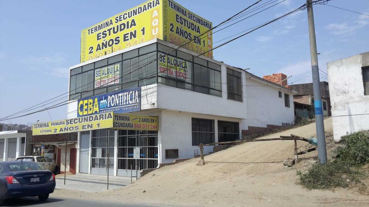 alquiler local comercial ventanilla pachacutec