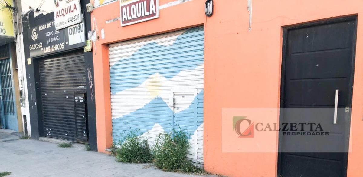 alquiler local sobre avenida san martín lanús oeste
