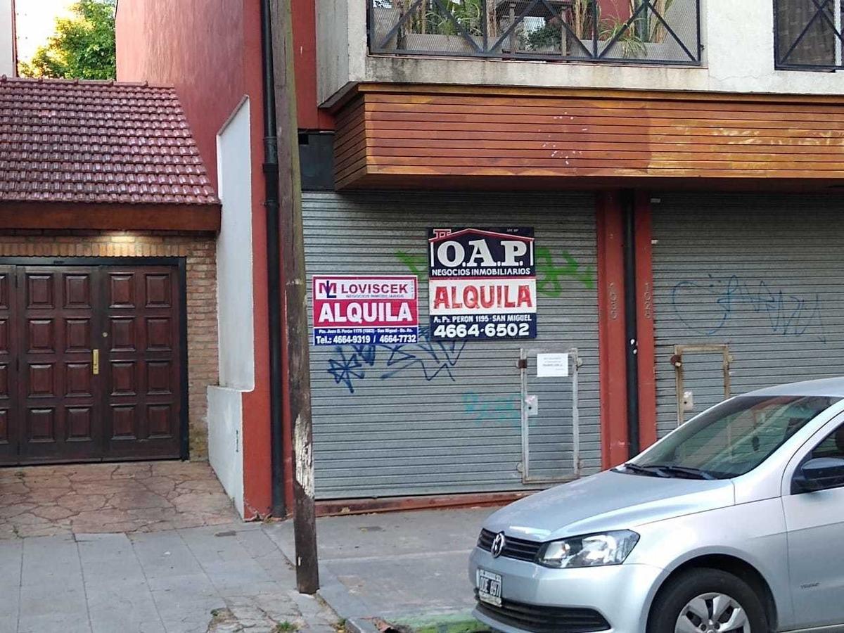 alquiler local sobre calle paunero