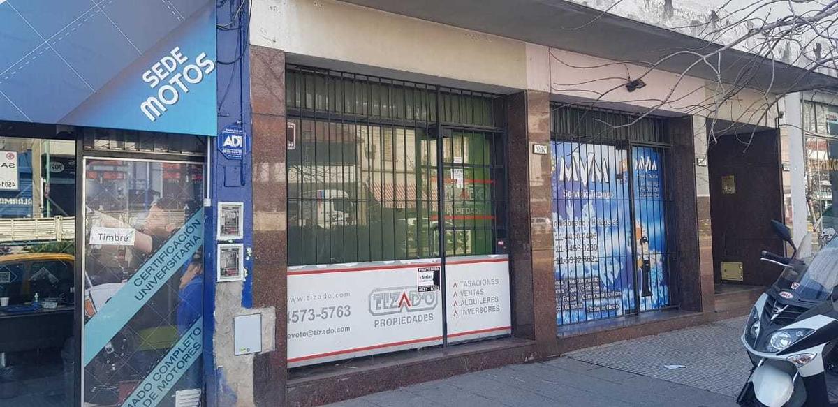 alquiler local todo destino de 35 mts.2  s/av. villa devoto