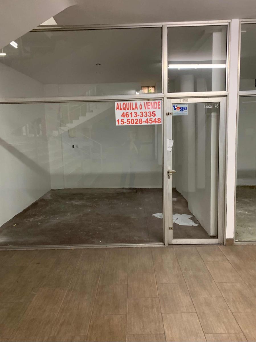 alquiler locales sobre santa fe 3500 excelente galeria t/des
