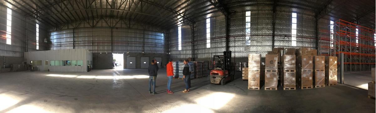 alquiler logístico, depósito, almacén 4.700 mts2 escobar -