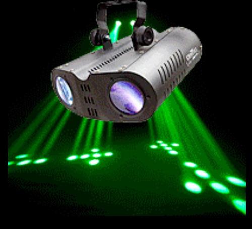 alquiler luces dj negra colores laser cabezal móvil seguidor