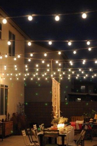 alquiler luces guirnaldas tipo kermesse $40