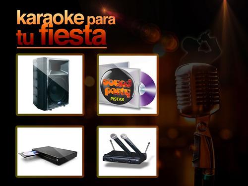 alquiler luces sonido en pilar zona norte humo karaoke fiest