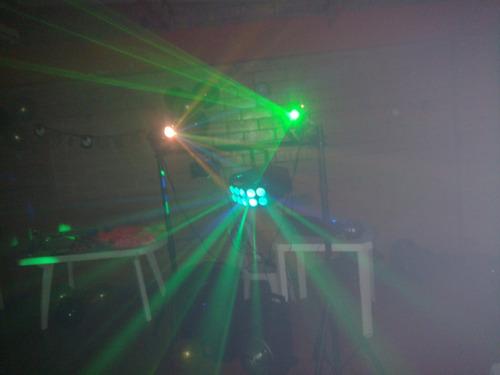 alquiler luces sonido humo dj