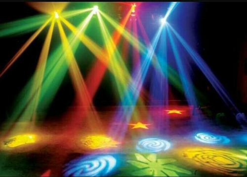 alquiler luces sonido humo karaoke proyector espuma burbujas