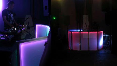 alquiler luces y efectos controlados a distancia con dmx