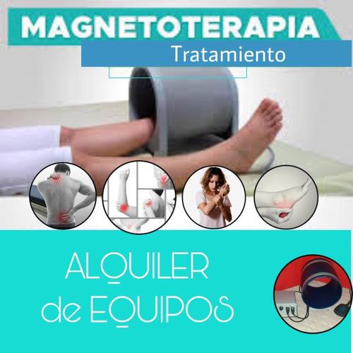 alquiler magnetoterapia magneto terapia. caballito y olivos!