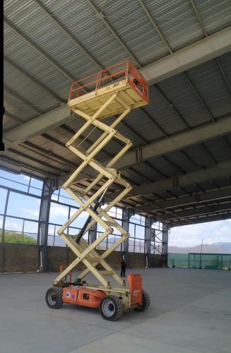 alquiler manlift, elevadores de personal, plataformas aereas