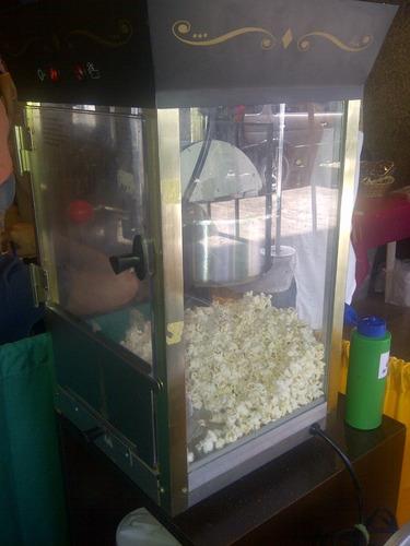 alquiler máquina algodón dulce, perros caliente, cotufas.