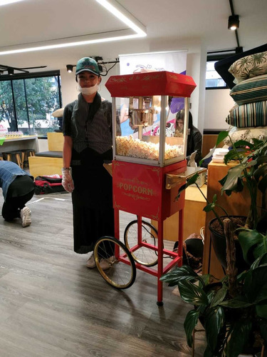 alquiler maquina de crispetas, fuente de chocolate y más en