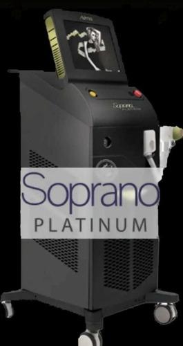 alquiler máquina de depilacion laser trio speed ice platinum
