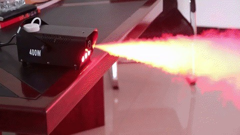 alquiler máquina de humo