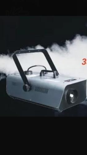 alquiler maquina de humo burbujas nieve luces etc zona oeste