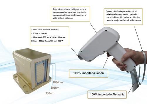 alquiler maquina depilacion definitiva laser equipo ice trio
