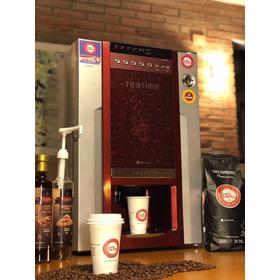 Alquiler Máquina Expendedora De Cafe Para Kioscos Panaderias