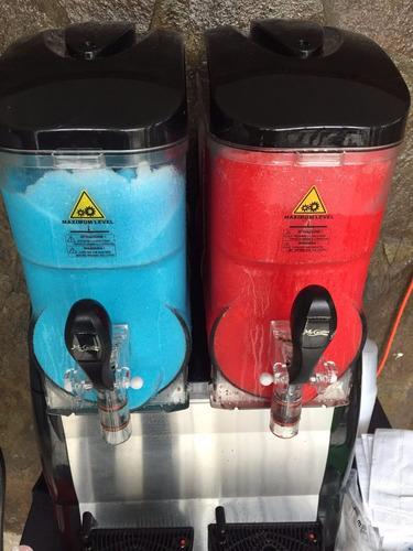 alquiler maquina granizadora refresquera coctel / eventos