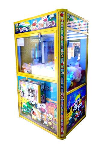 alquiler máquina muñecos - máquina peluches - pelucheras
