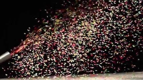 alquiler maquinas lanza papeles fiestas eventos agasajos
