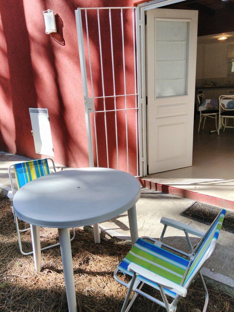 alquiler mar azul-cabaña 4 personas-marzo $1900