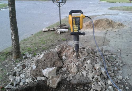 alquiler martillo demoledor - rompepavimento