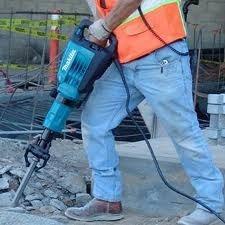 alquiler martillos eléctricos demoledores makita