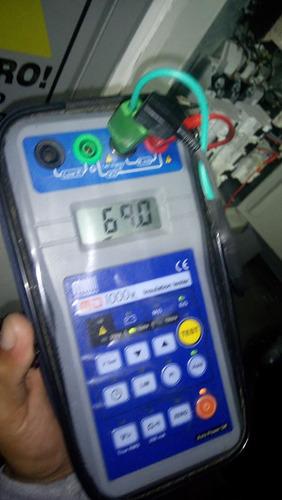 alquiler megometros de baja y media tensión 969764755
