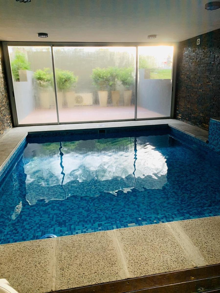 alquiler mensual punta del este 2 dorm  piscina coch gym sum