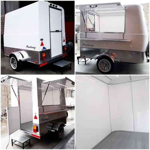 alquiler mensual tráiler food truck mactrail 100s