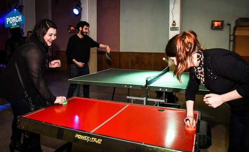 alquiler mesa de pool, ping pong, metegol, tejo,plaza blanda