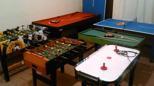 alquiler mesa ping pong profecional, fubolitos, tejos