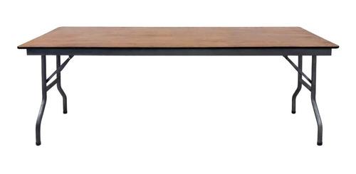 alquiler mesa rectangular 2,10x0,70 m eventos convenciones