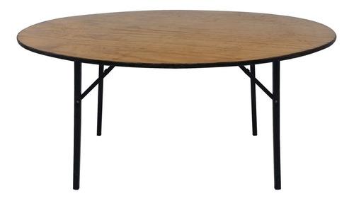 alquiler mesa redonda 1,6 m convenciones eventos fiestas