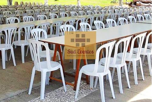 alquiler mesas sillas tablones vajilla