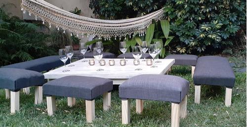 alquiler mesas sillas vajilla mantel living deco cafeteras