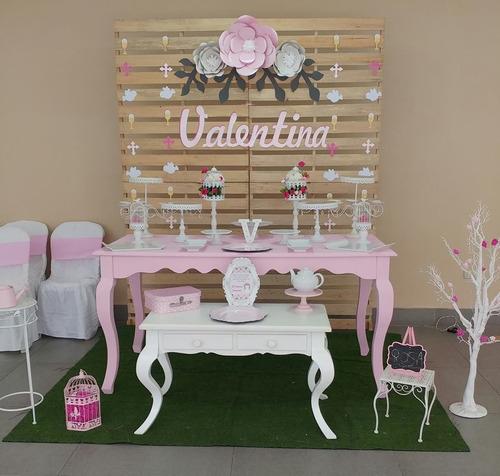 alquiler mesas vintage - mobiliario vintage
